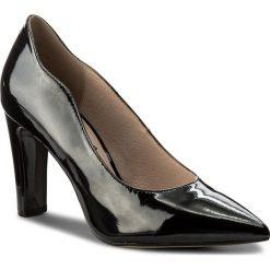 Półbuty CAPRICE - 9-22402-20 Black Patent 018. Czarne półbuty damskie skórzane Caprice, eleganckie, na obcasie. W wyprzedaży za 169,00 zł.
