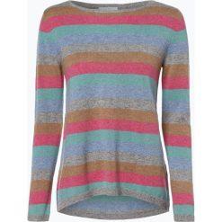 Marie Lund - Sweter damski z czystego kaszmiru, szary. Szare swetry klasyczne damskie Marie Lund, l, z kaszmiru. Za 449,95 zł.