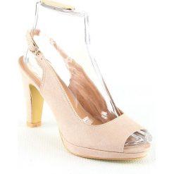 Sandały damskie: Sandały w kolorze jasnojasnoróżowym
