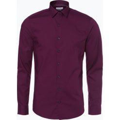 Koszule męskie na spinki: Calvin Klein - Koszula męska two ply – Bari, różowy