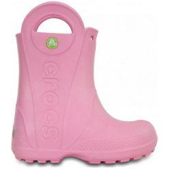 Buciki niemowlęce chłopięce: Crocs Buty Dziecęce Handle It Rain Boot 25,5 Różowe