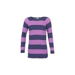 Swetry Benetton  DROULO. Fioletowe swetry klasyczne damskie marki Benetton, l. Za 207,20 zł.