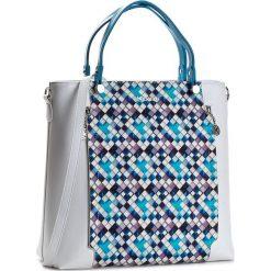 Torebka KAZAR - Alexa 24740 -01-95 Multicolor. Białe torebki klasyczne damskie Kazar, ze skóry, zdobione. W wyprzedaży za 549,00 zł.