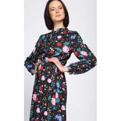 Czarno-Różowa Sukienka No Taboo. Czarne długie sukienki Born2be, l. Za 159,99 zł.
