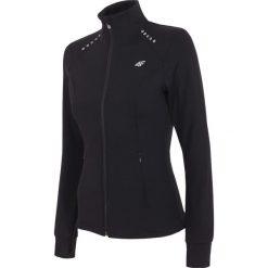 Bluzy rozpinane damskie: Bluza treningowa damska BLDF201 - czarny