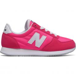New Balance KL220PWY. Różowe buty sportowe dziewczęce marki New Balance, na lato, z materiału. W wyprzedaży za 169,99 zł.