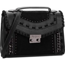 Torebka PEPE JEANS - Kassandra Bag PL030941  Black 999. Czarne torebki klasyczne damskie Pepe Jeans, z jeansu. Za 319,00 zł.
