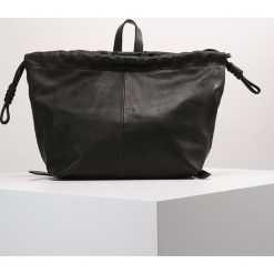Topshop DRAWSTRING Torba na zakupy black. Czarne shopper bag damskie marki Topshop. W wyprzedaży za 342,30 zł.