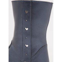 Friboo Kozaki blue. Czerwone buty zimowe damskie marki Friboo, z materiału. W wyprzedaży za 125,95 zł.