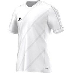 Adidas Koszulka piłkarska męska Tabela 14 biała r. M (F50278). Białe koszulki sportowe męskie marki Adidas, m. Za 65,00 zł.
