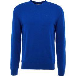 Emporio Armani Sweter bluette. Szare swetry klasyczne męskie marki Emporio Armani, l, z bawełny, z kapturem. Za 669,00 zł.