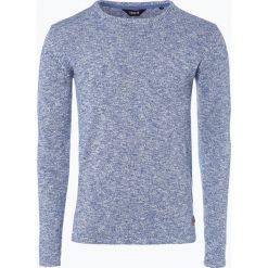 Solid - Sweter męski – Langston, niebieski. Niebieskie swetry klasyczne męskie Solid, m, z bawełny. Za 179,95 zł.