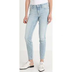 Calvin Klein Jeans CKJ 001 SUPER SKINNY Jeans Skinny Fit beach chalet blue. Niebieskie jeansy damskie relaxed fit Calvin Klein Jeans, z bawełny. Za 549,00 zł.