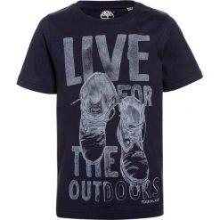T-shirty chłopięce z nadrukiem: Timberland KURZARM OUTDOORS Tshirt z nadrukiem marine