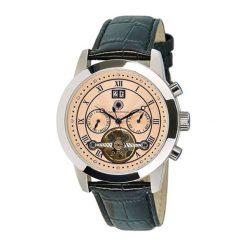 "Zegarki męskie: Zegarek ""CDCATAATLTSTSTPK"" w kolorze czarno-srebrnym"