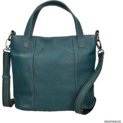 Torebka skórzana zielona Avanzata M marki Bolsa. Zielone torebki klasyczne damskie Pakamera, ze skóry. Za 499,00 zł.