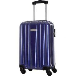 Walizka w kolorze granatowym - 41 l. Niebieskie walizki marki Travel One, z materiału. W wyprzedaży za 219,95 zł.