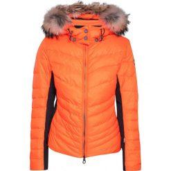Bomberki damskie: Kurtka narciarska KELLY BY SISSY DE MONTE CARLO SYLVIE Pomarańczowy