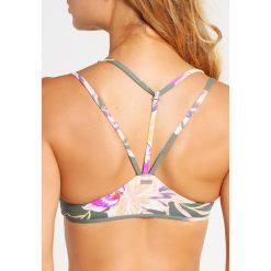 Stroje kąpielowe damskie: Roxy CASTAWAY Góra od bikini castaway/duck green