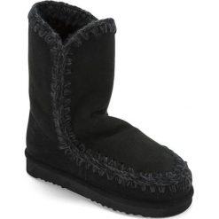 Botki w kolorze czarnym. Czarne buty zimowe damskie Carla Samuel, na zimę. W wyprzedaży za 149,95 zł.