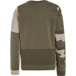 Swetry chłopięce: Sisley Sweter khaki