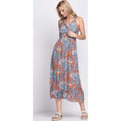 Sukienki: Pomarańczowa Sukienka Unforgettable