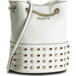 Torebka KAZAR - Florida 32640-01-01 White. Białe torebki klasyczne damskie Kazar, ze skóry. W wyprzedaży za 479,00 zł.