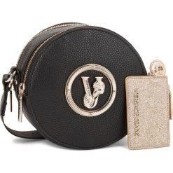 Torebka VERSACE JEANS - E1VSBBV2 70790 899. Czarne listonoszki damskie Versace Jeans, z jeansu. Za 619,00 zł.