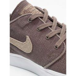 Nike SB ZOOM JANOSKI Tenisówki i Trampki ridgerock/khaki/vintage coral/laser orange/hyper royal. Brązowe tenisówki męskie Nike SB, z materiału. Za 359,00 zł.
