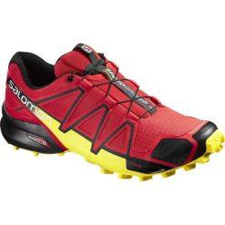 Buty sportowe męskie: Salomon Buty męskie SPEEDCROSS 4 Radiant Red/Black/Corona Yellow r. 43 1/3 (381154)