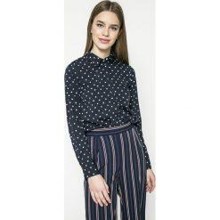 Vero Moda - Koszula Nicky. Niebieskie koszule damskie marki Vero Moda, z bawełny. W wyprzedaży za 69,90 zł.