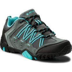 Trekkingi HI-TEC - Poraso Wo's AVSSS18-HT-01-Q1 Dark Grey/Turquoise. Niebieskie buty trekkingowe damskie Hi-tec. W wyprzedaży za 189,00 zł.