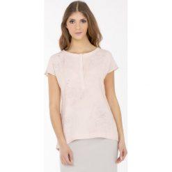 Bluzki asymetryczne: Wiosenna bluzka