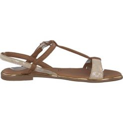 Rzymianki damskie: Skórzane sandały Kim