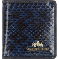 Portfel 19-1-065-N. Niebieskie portfele damskie Wittchen. Za 119,20 zł.