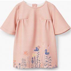 Sukienki dziewczęce z falbanami: Mango Kids - Sukienka dziecięca Penelope 80-98 cm