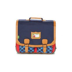 Teczki Tann's  LES BONS ENFANTS TARTAN CARTABLE 41CM. Niebieskie torebki klasyczne damskie Tann's. Za 287,20 zł.