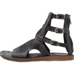 A.S.98 Sandały z cholewką nero. Czarne sandały trekkingowe damskie A.S.98, z materiału. Za 719,00 zł.