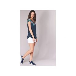 T-shirty z krótkim rękawem Desigual  REARU. Niebieskie t-shirty damskie Desigual, xs. Za 127,20 zł.
