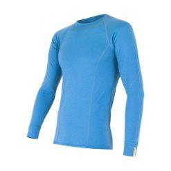 Sensor Koszulka Termoaktywna Z Długim Rękawem Merino Wool Active M Blue M. Niebieskie koszulki turystyczne męskie Sensor, m, z materiału. Za 215,00 zł.