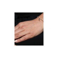 Bransoletka Perły złoto piórko. Brązowe bransoletki damskie na nogę Brazi druse jewelry, srebrne. Za 170,00 zł.