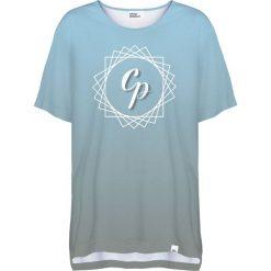 Colour Pleasure Koszulka damska CP-033 292 szaro-niebieska r. uniwersalny. Niebieskie bluzki damskie marki Colour pleasure, uniwersalny. Za 76,57 zł.