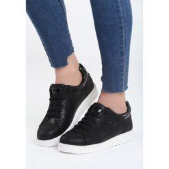 Czarne Buty Sportowe Get Like Me. Czarne buty sportowe damskie marki Born2be, z materiału. Za 79,99 zł.