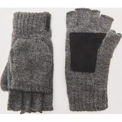 Rękawiczki typu mitenki - Szary. Szare rękawiczki męskie House. Za 49,99 zł.