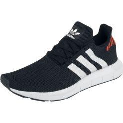 Adidas Swift Run Buty sportowe czarny. Czarne buty skate męskie marki Adidas, z kauczuku. Za 284,90 zł.