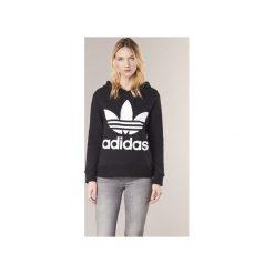 Bluzy adidas  TREFOIL HOODIE. Czarne bluzy damskie marki Adidas. Za 309,00 zł.
