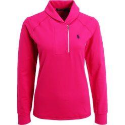 Polo Ralph Lauren Golf EXTREME  Bluzka z długim rękawem brilliant magenta. Czerwone bluzki longsleeves Polo Ralph Lauren Golf, s, z elastanu, sportowe, z golfem. W wyprzedaży za 415,20 zł.
