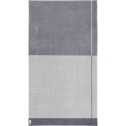 """Kąpielówki męskie: Ręcznik plażowy """"Block"""" w kolorze szarym"""