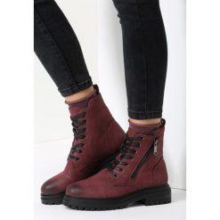 Bordowe Traperki Moondance. Czerwone buty zimowe damskie vices. Za 79,99 zł.