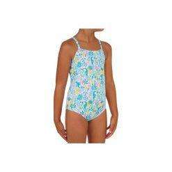 466fe24b5899a6 Kostium kąpielowy jednoczęściowy HANALEI TUAMO dla dzieci. Niebieskie  bluzki dziewczęce OLAIAN, bez wzorów,